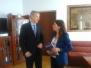2014.03.04 - Spotkanie z Sekretarzem Stanu Rumunii ds. Europejskich