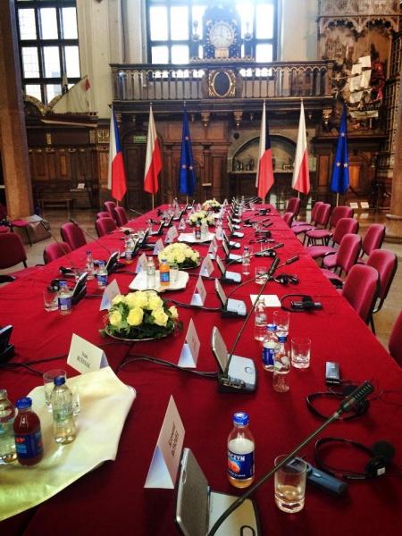 Posiedzenie Prezydiów Sejmu RP i Izby Poselskiej Parlamentu Republiki Czeskiej w Gdańsku