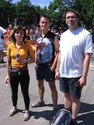 Wielkie Święto Rowerzystów - zdjęcie rodzinne
